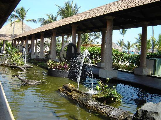 Excellence Punta Cana: One of the many water features on the grounds of the hotel