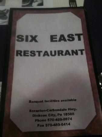 ‪Six East Restaurant‬