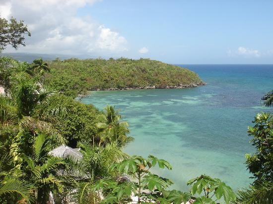 Couples Sans Souci: Our view from room during daytime