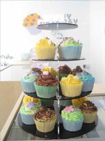 Swindon, UK: Cupcake Tower