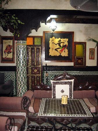Riad Dar Najat: Ground Floor Patio