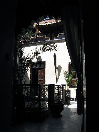 Riad Dar Najat: Door to Souad Room