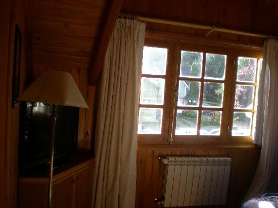 Complejo Aspen: Ventana habitación
