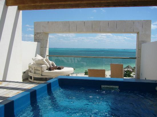 Excellence Playa Mujeres: from the rooftop terrace