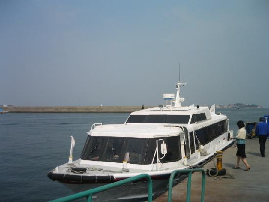 Himakajima: この船で島へ