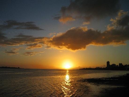 Danshuei: 心を洗われるような美しい夕焼け