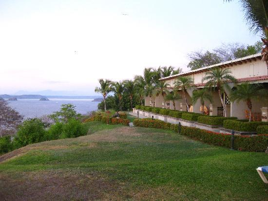 Ocotal Beach Resort: Our block of rooms