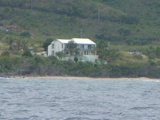 View of Villa Margarita from the Sea