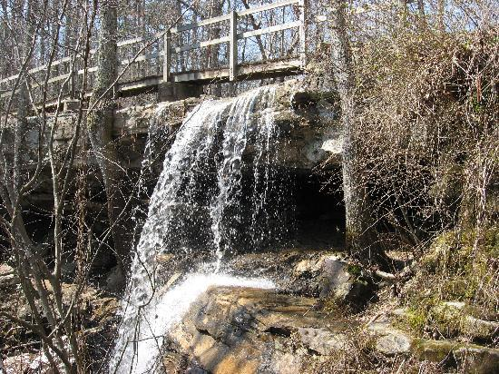 DeSoto State Park: Indian Falls