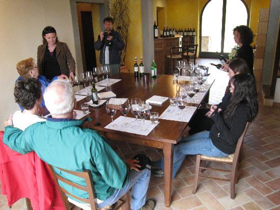 Tuscan Wine Tours by Grape Tours: Good wine, good friends.