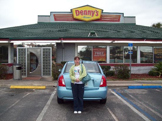 Cocoa Beach, FL: Parking Denny's Cocoa
