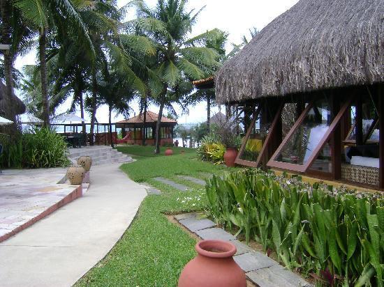Pousada Tabapitanga: vista desde el jardin