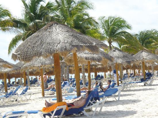 Ocean Maya Royale: la plage