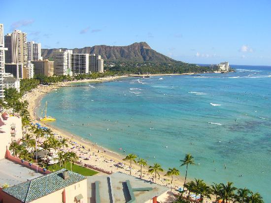 Sheraton Waikiki: 絵葉書みたい