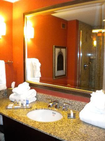 Doubletree Hotel Little Rock: Bathroom