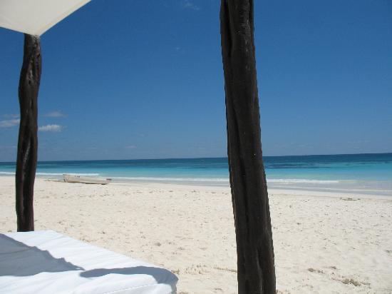 Playa Mambo: View from Sun Bathing Matress