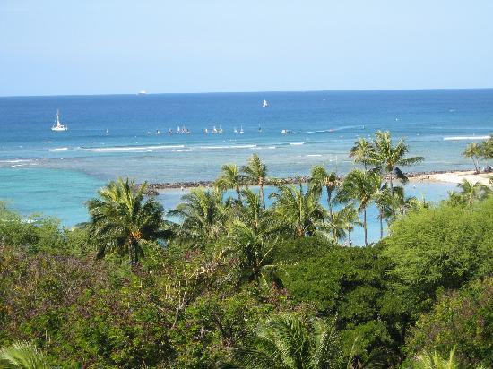 Hale Koa Hotel: View from the Lanai