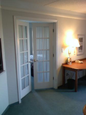 La Quinta Inn & Suites Greenville Haywood: Bedroom Entryway