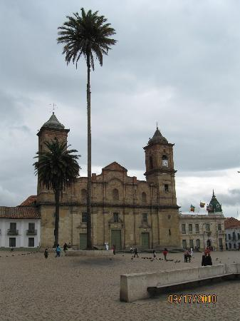 Zipaquirá, Colombia: Town square of Zipaquira.