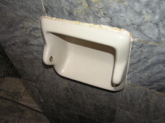 Orchids Resort: broken toilet roll holder