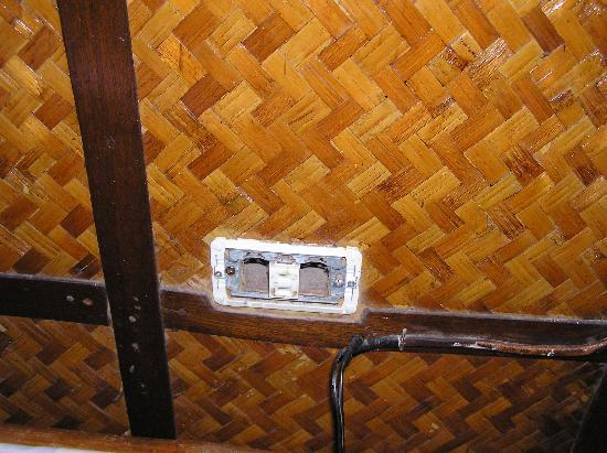 Orchids Resort: A broken power outlet