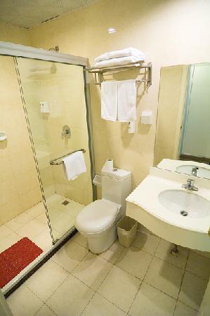 Lereal Inn (Shanghai Zhongshan Park): Shower room