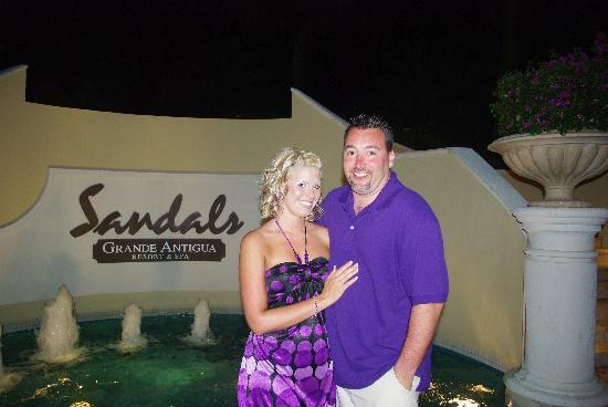Sandals Grande Antigua Resort & Spa: in lobby