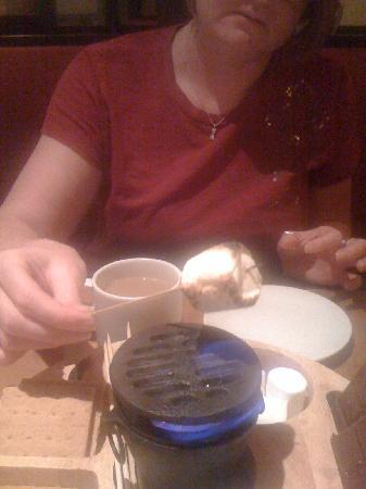 Frank & Albert's: The infamous S'mores cooked at your table