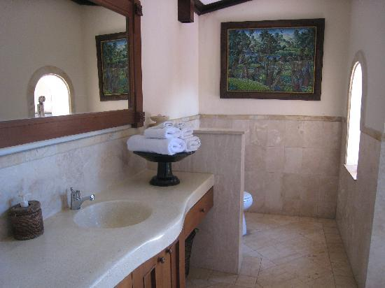 Bebek Tepi Sawah Villas & Spa: Ubud Village bathroom