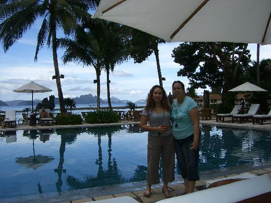 El Nido Resorts Lagen Island: Poolside
