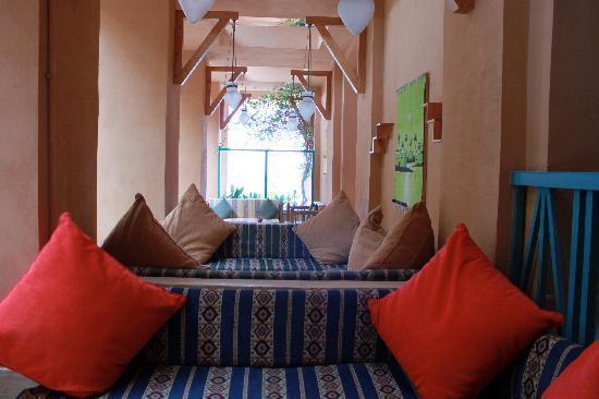 Sheraton Miramar Resort El Gouna: Sheraton Miramar outdoor lounge