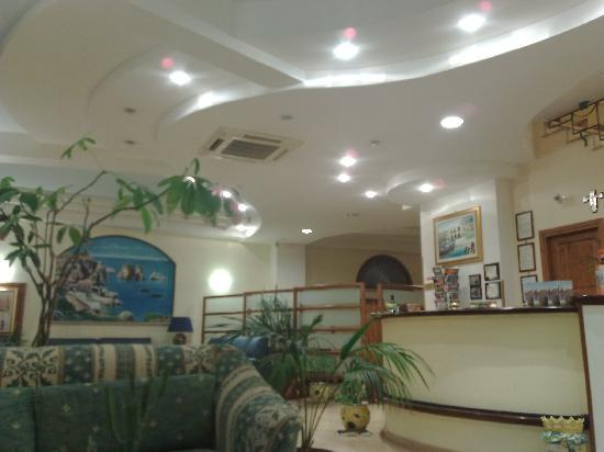 Hotel Cala Marina: hall