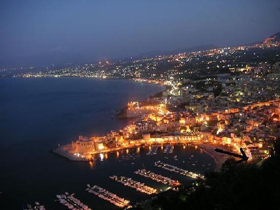 Hotel Cala Marina: Hotel dall'alto/ panoramica