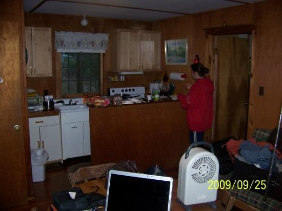 Our cabin on Lake George. By on, I dont mean a long walk to the lake, I mean the freakin deck ov