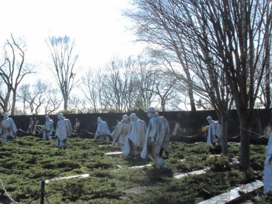 Korean War Veterans Memorial: Korean war Memorial