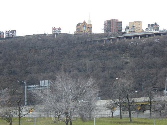 St Mary Of The Mount >> St Mary Of The Mount From Downtown Picture Of Pittsburgh