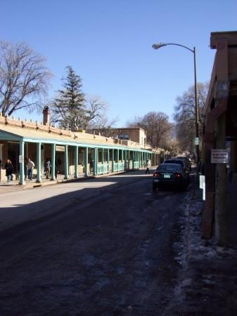 Downtown Santa Fe Plaza