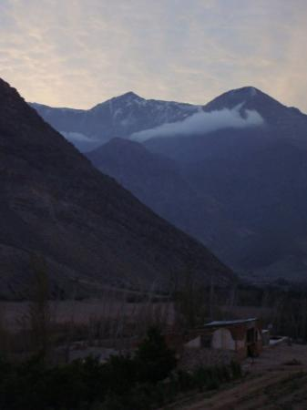 La Serena, Chile: ... bueno... otro atardecer .. pero con las montañas de fondooo.. jajaj