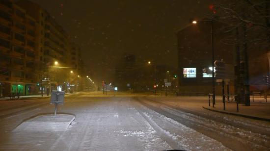 Lyon, avenue Mermoz à 3h du mat'