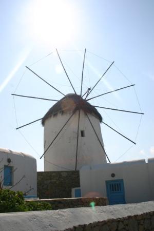 Bilde fra Mykonos by