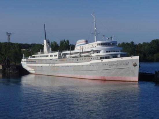 Milwaukee Clipper docked in Muskegon.