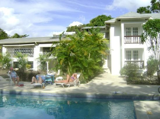 Holetown, Barbados: our villa, Ascot House in the Gibbs/Muellin beach area.