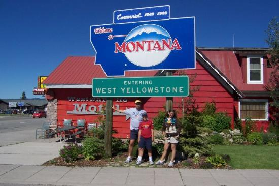West Yellowstone, MT: Becca, Jake, and Me