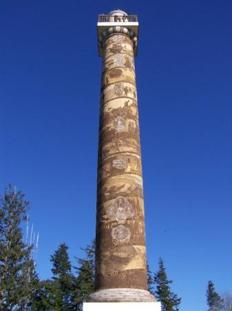 Astoria Column: So beautiful - more stairs to climb.