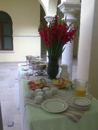 Oaxaca Mex Hotel Francia Desayuno