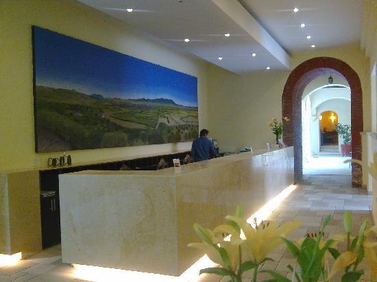 Oaxaca Mex Hotel Francia Recepciòn