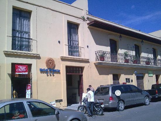 Oaxaca Mex Hotel Francia Fachada