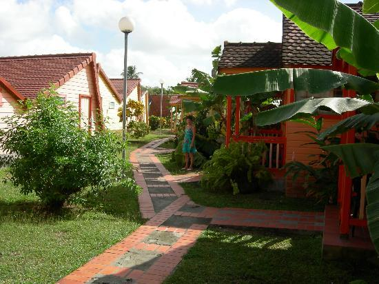 Hotel Bambou: Les bungalows
