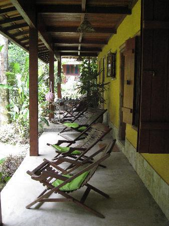 Pousada Cachoeira: everyone has a lovely veranda