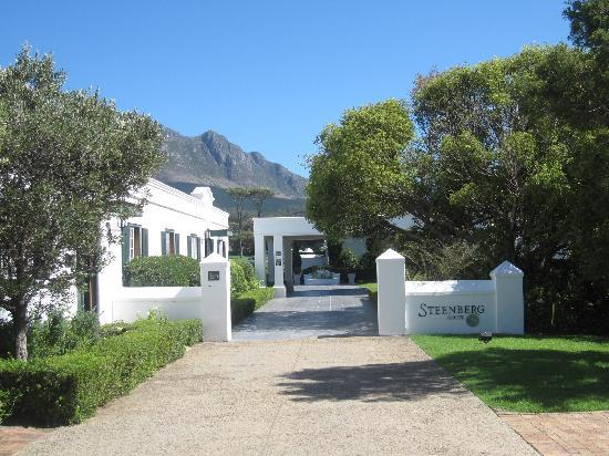 Steenberg Hotel: The entrance